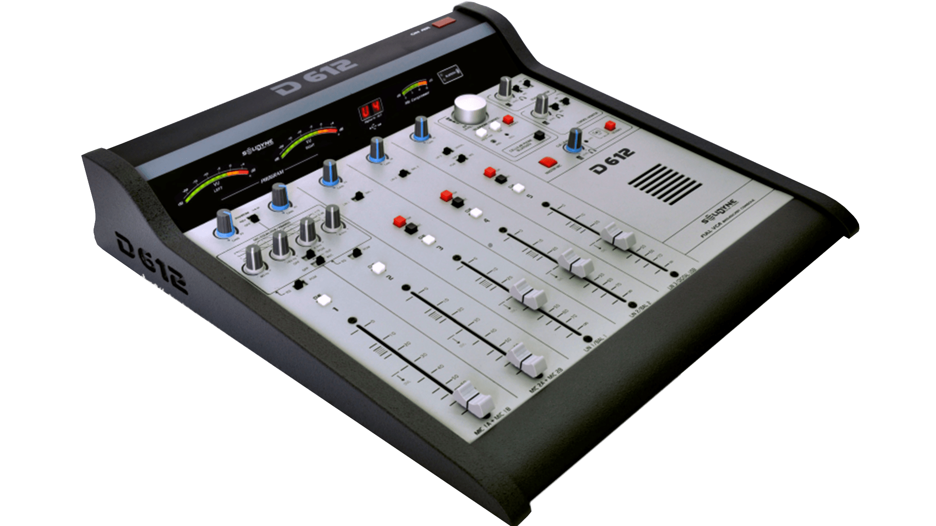 Consola-D612-Alpha-Solidyne-Streaming-Televisión-Radio-Emisoras-FM-AM-Internet-Virtual-Online-Buena-Imagen-Bogotá-Colombia