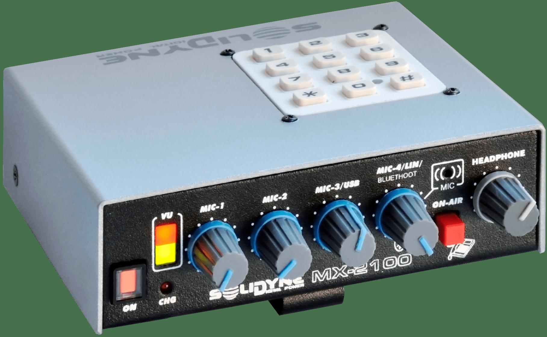 Consola-Portatil-MX2100-Streaming-Solidyne-Televisión-Radio-Emisoras-FM-AM-Internet-Virtual-Online-Buena-Imagen-Bogotá-Colombia